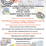 ROFA Web Conference poster