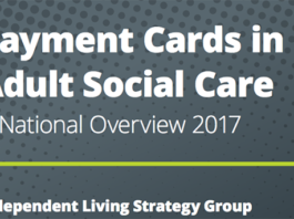 Payment cards in adult social care