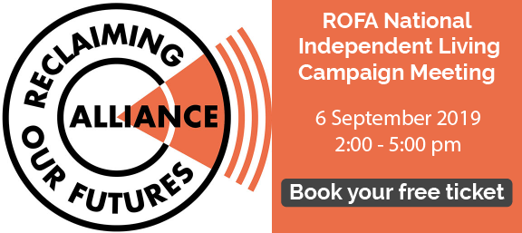 ROFA National Independent Living Campaign Meeting