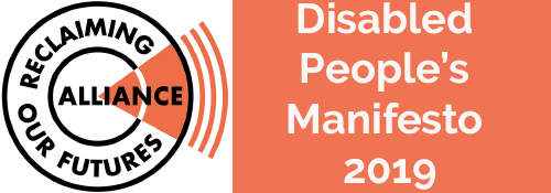 Disabled People's Manifesto 2019